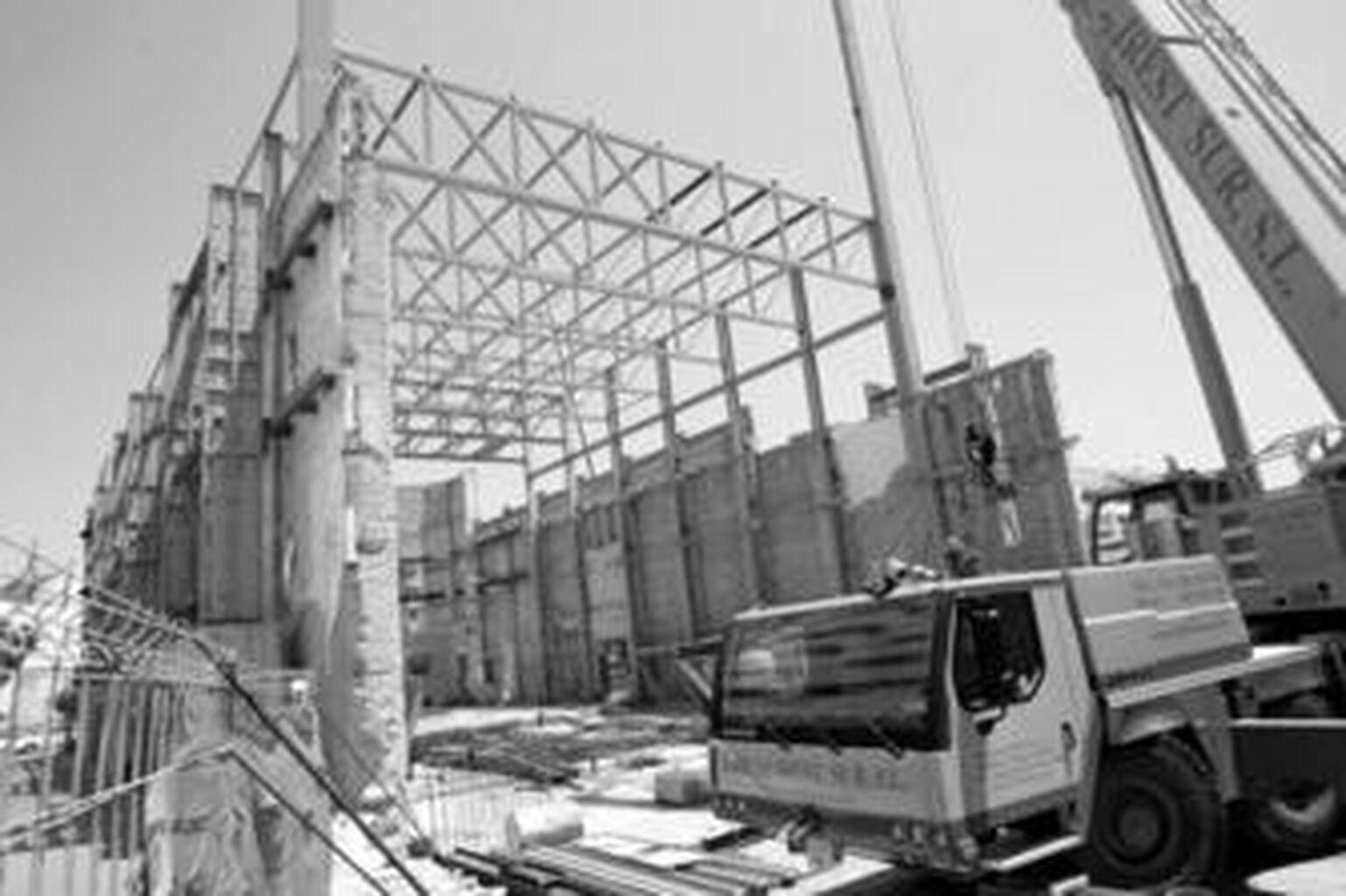 Finalizan los trabajos de metálica montaje de la estructura metálica de del 6d7ec0