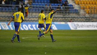 El Cádiz empata con el Marbella (3-3)