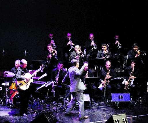 Big Band de Granada. Portón del Jazz 2009. Finca El Portón (Alhaurín de la Torre). 31 de julio. 22:30 horas.