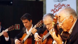 Concierto del cuarteto Los Romero en el Gran Teatro.  Foto: Jose Martinez/Alvaro Carmona