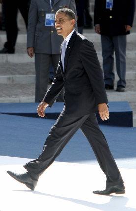 Llegada del presidente de los Estados Unidos, Barack Obama.  Foto: EFE