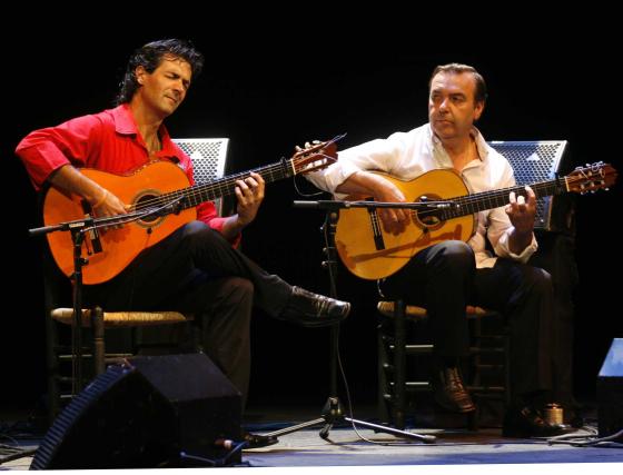 Niño Pura y Manolo Franco presentaron Compadres en el Gran Teatro.  Foto: Jose Martinez/Alvaro Carmona