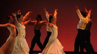 En el homenaje se ha llevado a cabo una recopilación de las mejores coreografías de Mario Maya.  Foto: Jose Martinez/Alvaro Carmona