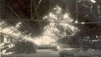 1948. Almacenes portuarios tras la explosión