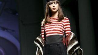 Creación de Jean Paul Gaultier durante la Semana de la moda de alta costura que se celebra en París.  Foto: EFE