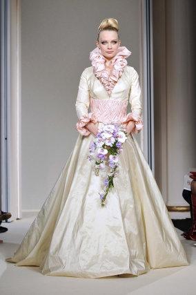 Desfile de la colección Otoño-Invierno 2009/10 de la marca Oliver Swan.  Foto: EFE