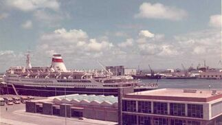 1972. Imagen de la Estación Marítima