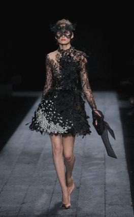 Valentino, durante la Semana de la Moda de París.  Foto: EFE