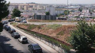Caos en la zona centro sur de Jerez por las obras de Ronda Muleros