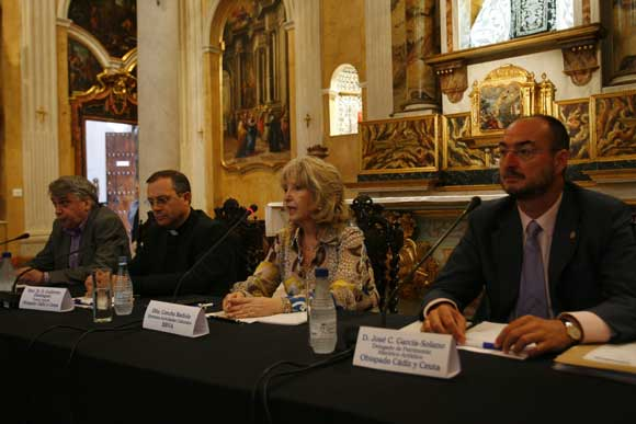 La obras de esta joya de la arquitectura civil andaluza ha permitido recuperar el esplendor del que en sus inicios disfrutó la capilla  Foto: Joaquin Hernandez Kiki