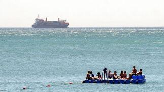 Una embarcación playera  Foto: Migue Fernandez