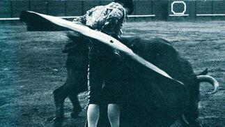 Una revolera realizada por el Niño de la Palma.  Foto: Fotografias extraidas de \'Estirpe y Tauromaquia de Antonio Ordo?'