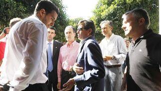 No empezó bien la tarde porque el Xerez no dejó entrar a Chapín a las emisoras de radio, que acudieron con un notario para levantar acta de la prohibición  Foto: Juan Carlos Toro