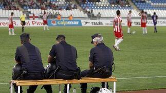 El UD Almería pasa de ronda en la Copa del Rey en un partido aburridísimo.  Foto: Ricardo García