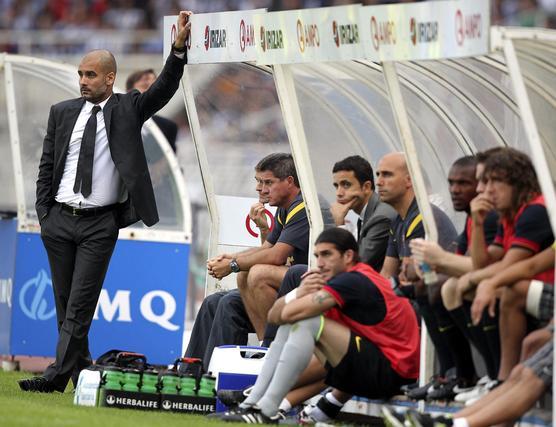 El Barcelona 'pincha' por primera vez en la temporada ante la Real Sociedad. / EFE