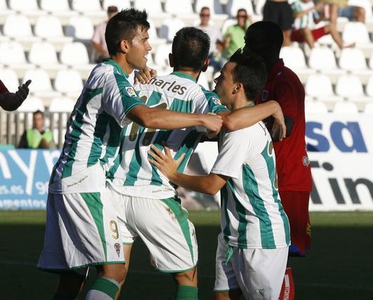 El Córdoba vence en casa al Numancia (1-0). / Álvaro Carmona