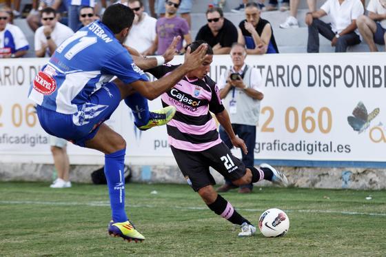 El Xerez vence a domicilio al Alcoyano con un gol de José Mari (0-1). / LOF