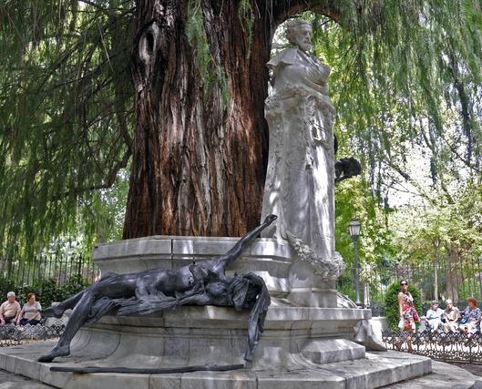 Estatua de Bécquer.  Foto: Juan Carlos Vázquez
