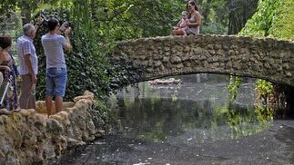 El parque sigue siendo un reclamo para turistas y residentes en la ciudad.  Foto: Juan Carlos Vázquez