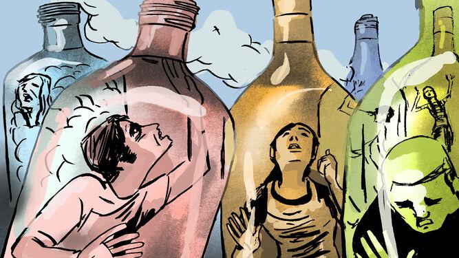 De las complicaciones alcohólico abstinentnogo del síndrome