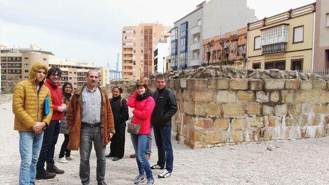 Un Grupo De La Fundación Cepaim Conoce La Historia De Algeciras