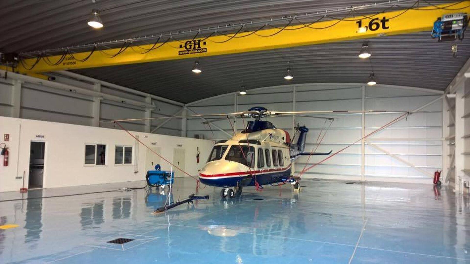 Hélity espera reanudar en mayo las conexiones por helicóptero con Ceuta