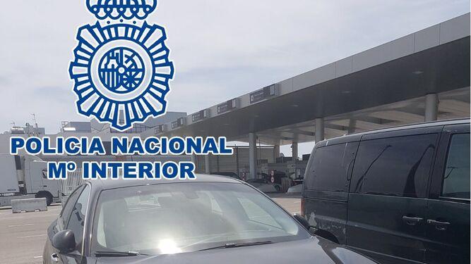 La polic a nacional recupera en el puerto cinco veh culos - Policia nacional algeciras ...