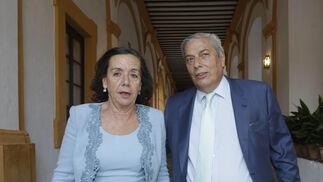 Belén Martínez-Fresneda y José Aureliano Recio.