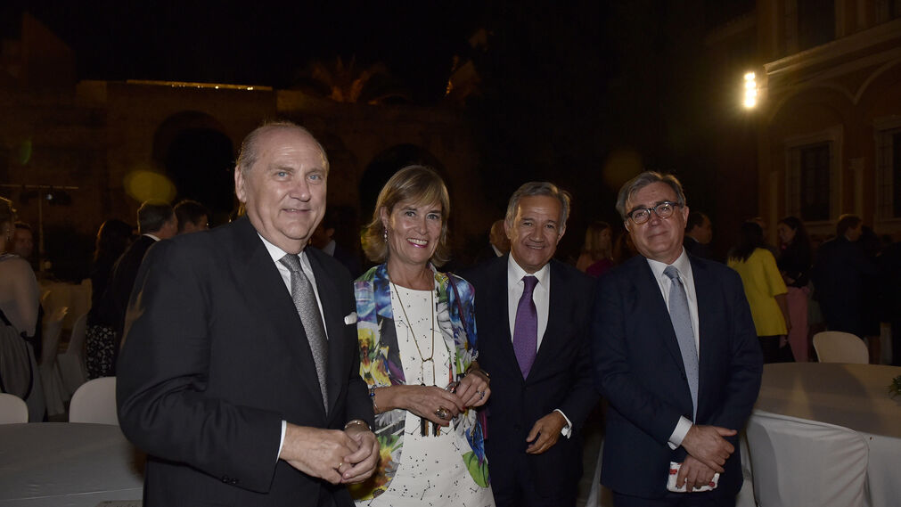 José Moya, Pilar Herranz, Jorge Segura e Ignacio Martínez.