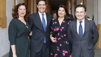 Rocío Cruzado, Leopoldo Parias, Julia Cruzado y Luis Bolaños.