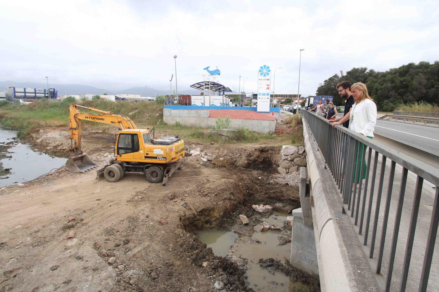 El Grupo Alonso reanuda los trabajos para ensanchar el cauce del río ...