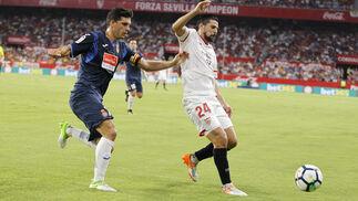 Las imágenes del Sevilla-Espanyol