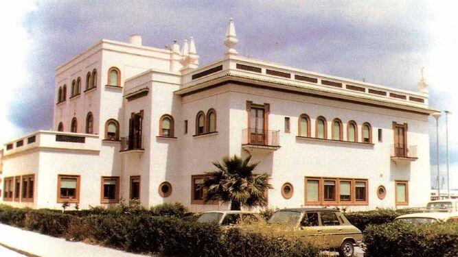 Antigua sede de la Junta de Obras del Puerto, en una foto tomada hacia 1980.