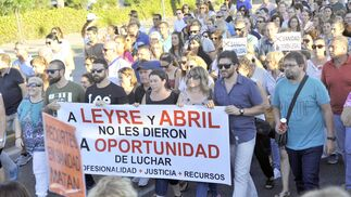Las imágenes de la manifestación