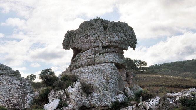 La Montera del Torero, en el término de Los Barrios.