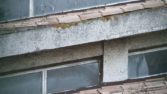 Estado de las cubiertas del edificio.