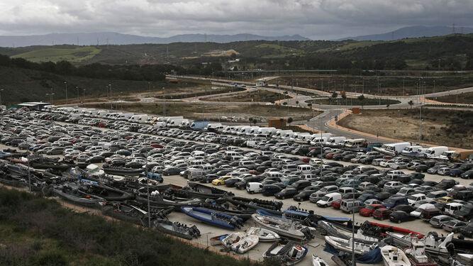 Un depósito judicial de la comarca, colapsado con bienes intervenidos a las redes del tráfico de drogas.