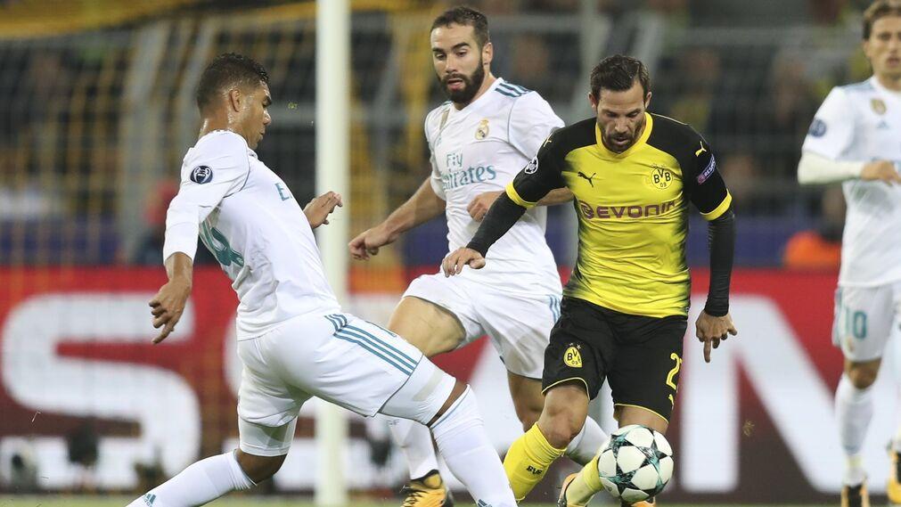Las imágenes del Real Madrid-Borussia Dortmund