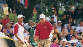 Un jovencísimo Tiger Woods