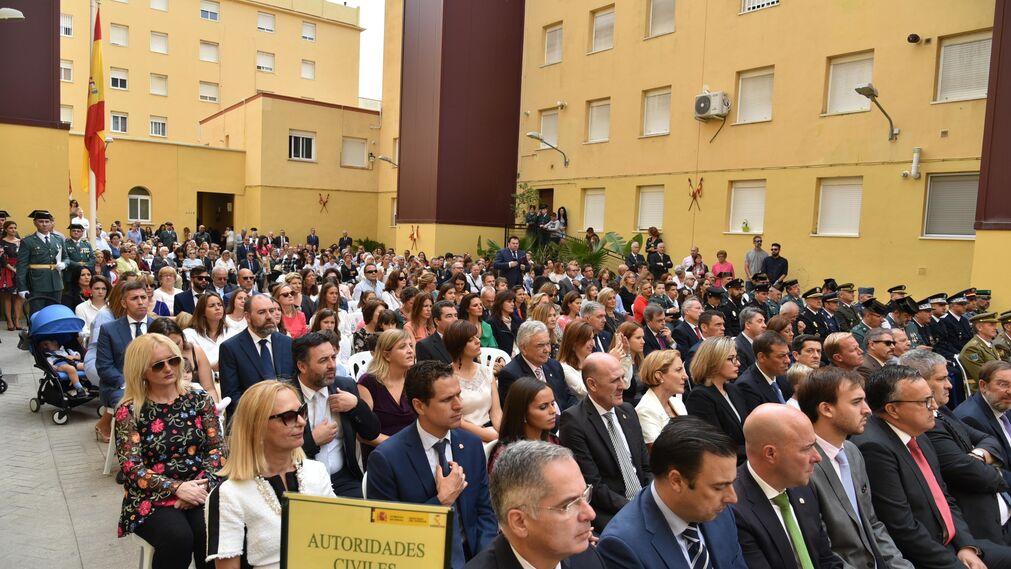 Celebración del Día del Pilar en La Línea