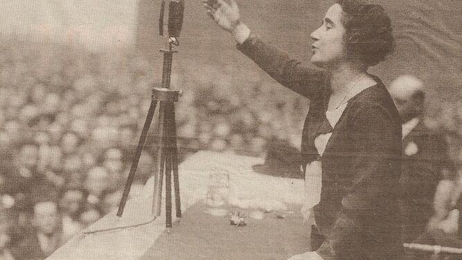 Discurso de Clara Campoamor en favor del voto de la mujer.