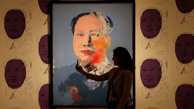 'Mao' (1972), expuesta en el CaixaForum de Barcelona, llegará al Museo Picasso en mayo de 2018.