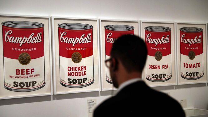 'Sopa Campbell's' (1968), uno de los iconos más reconocibles de Andy Warhol.