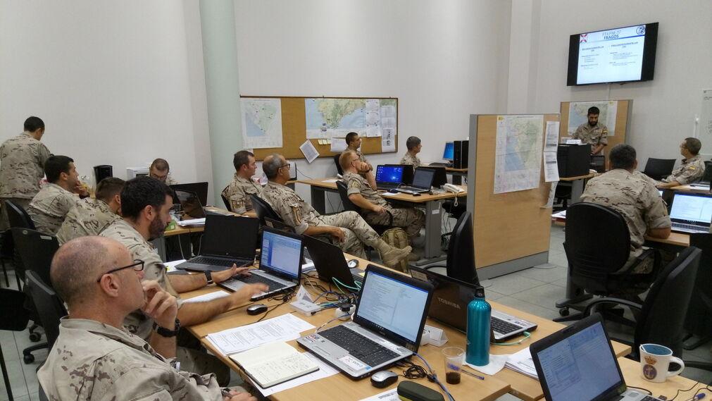 Imágenes del ejercicio FTX FIM 17 de la Marina