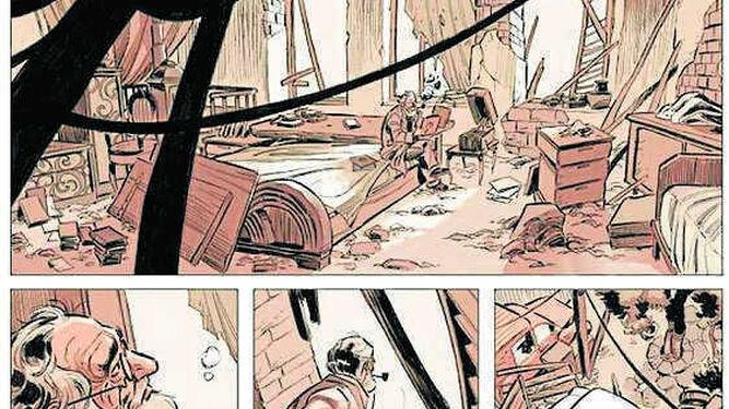 El drama de los refugiados, en viñetas