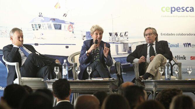 Margarita Pérez, directora general de Pesca y Acuicultura de la Junta.