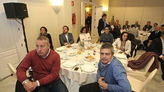 Manuel Cabello, Marián López, Sergio Sánchez, María del Mar Sánchez, Raquel Montenegro, Rocío García y José Antonio González.