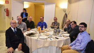 Luis Martín, José Méndez, Antonio Seguera, José Antonio Gómez, Francisco Arroyal, Manuel Piedra, Alonso Luque y Alberto Rodríguez.