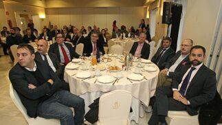 Manuel Retamero, Ángel Martínez, Antonio Fernández, Juan Antonio Palacios, Jesús de Sobrino, Daniel Trujillo, Juan Pérez y Enrique Pozuelo.