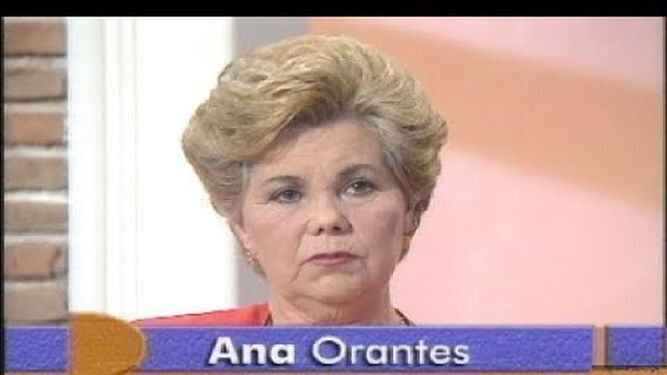 Ana Orantes en el programa de Canal Sur en el que denunció las agresiones de su marido.